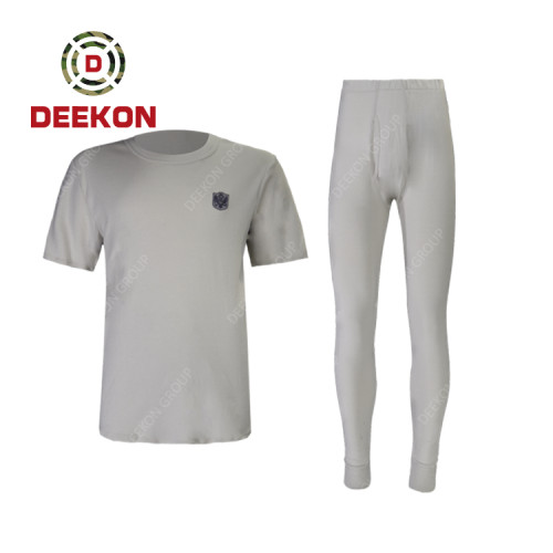 Military Trouser Manufacture 100% Cotton T-shirt and Pants Breathable Army Shirt for Serbia Military
