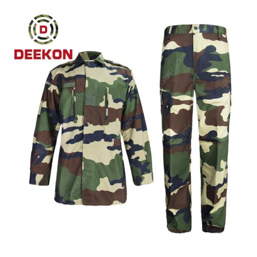 Military uniform factory Senegal Woodland Camouflage Military Clothing
