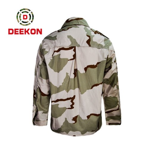 Factory Supply Three Color Desert Camouflage Military BDU  shirt