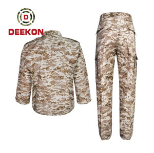 China Supply Saudi Arabia Desert Digital Camo TC Military Uniform