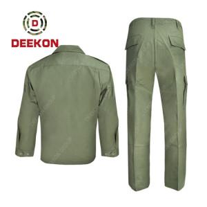 Deekon wholesale High Quality Green Color Military Battle army uniforms