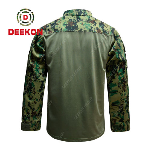 Deekon factory supply Top Quality Philippines Flame Resistant Woodland Digital Camouflage FORG Uniform