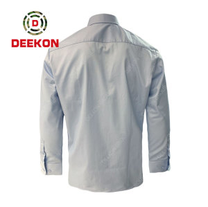 Deekon factory supply Men's military Combat  Tactical Long Sleeve Offical Camouflage Shirt