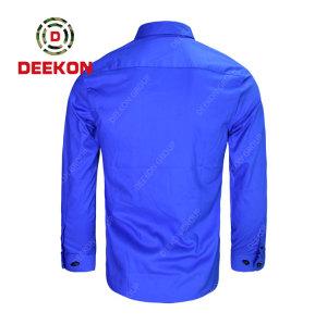 Deekon Malawi Military Army Work Wear Long Sleeve Button Up Tactical shirts supply