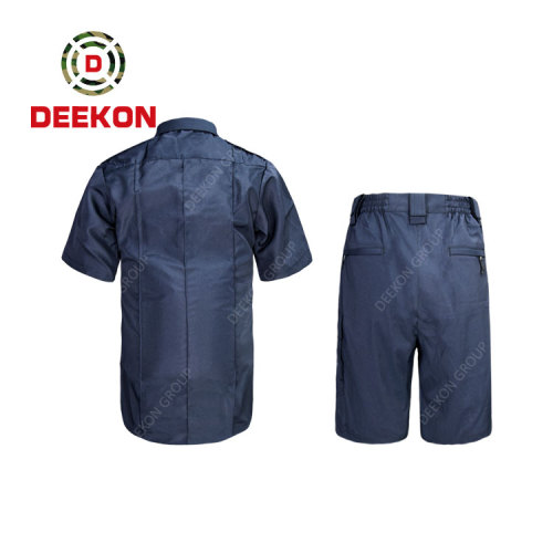 Deekon supply New Design Panama Army Offical Suit Military Clothing Short Shirts with Short Pants