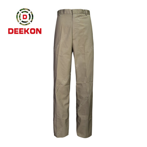 Deekon factory make Libya Tactical Soft Shell Fleece Unisex Water Resistant Military Trousers for Army