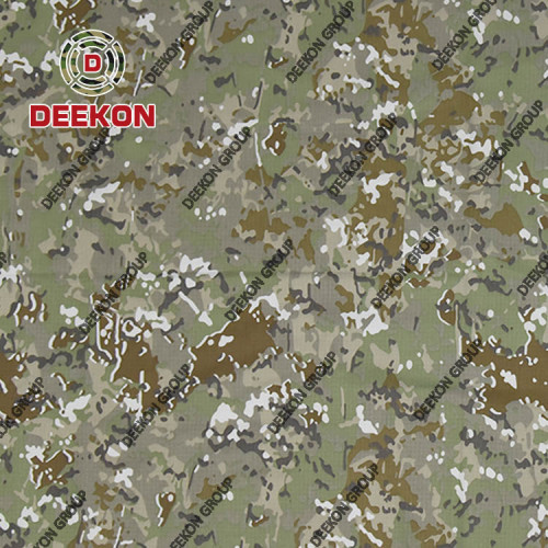 Peru Multicam NC 50/50 Military Uniform Textile for Tender with Ant-Wrinkle