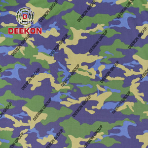 Camouflage Cotton 65% / Polyester 35% CVC 60/40 Cloth Textile for Ghana Navy with Waterproof