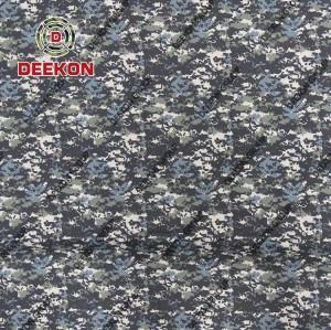 Bangladesh Navy Twill Digial Camouflage Supplier CVC 50/50 Uniform Textile with Waterproof Supplier