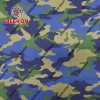 Navy Rip-stop Twill CVC 65/35 250gsm Camo Uniform Fabric for Ghana with Waterproof