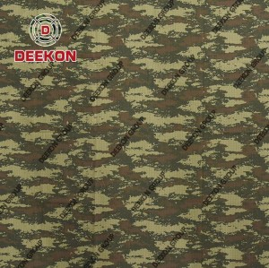 Azerbaijan Army CVC 65/35 Ripstop & Twill for Winter& Summer Military Uniform Fabric with Waterproof Factory