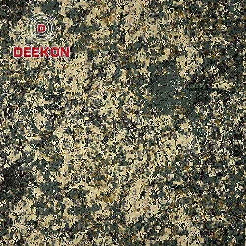 Army Digital TC 65/35 Camouflage Fabric with Teflon for Uniform & Garment Supplier