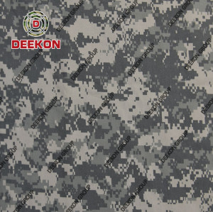 Grey Digital CVC 65/35 Ripstop & Twill for Winter & Summer Military Uniform Fabric for Philippines Supplier