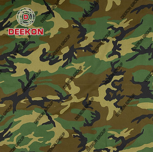 Polyester 65% / Cotton 35% Ripstop & Twill Dessert Camouflage Fabric with Waterproof Company