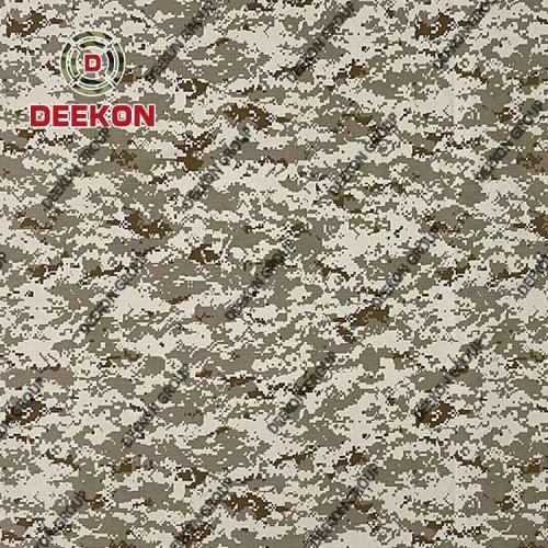 Wholesaler Jordan Army TC 60/40 Desert Digital Camo Ripstop Camo Fabric for Uniform & Apparel