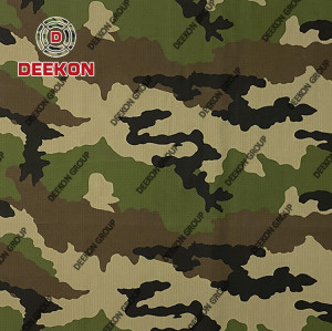 Morocco French Woodland NC 50/50 Camouflage Fabric with Anti-Infrared for BDU Uniform Manufacturer