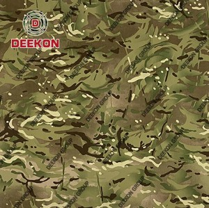 Multicam Camouflage Supplier TC / CVC / NC Ripstop Fabric for Military Uniform with Waterproof