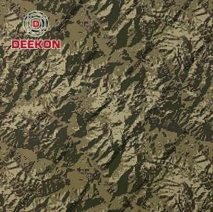 Peru Woodland Digital Tiger Supplier Strip NC 50/50 Uniform Fabric with Anti-Bacteria