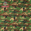 Green Woodland CVC 50/50 Twill Camo Fabric with Anti-Wrinkle Free for Military Fatigues Supplier