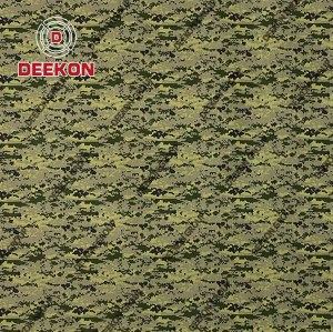 Woodland Digital CVC 60/40 Twill Camo Fabric with Anti-Wrinkle for Military Suit Supplier
