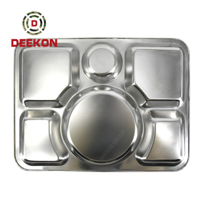 Stainless Steel Hot Lunch Box Camping Mess Kit Military Mess Tin Supplier