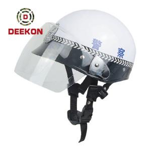 Police Security Duty Military Supplies Polyethylene Army Anti Riot Helmet