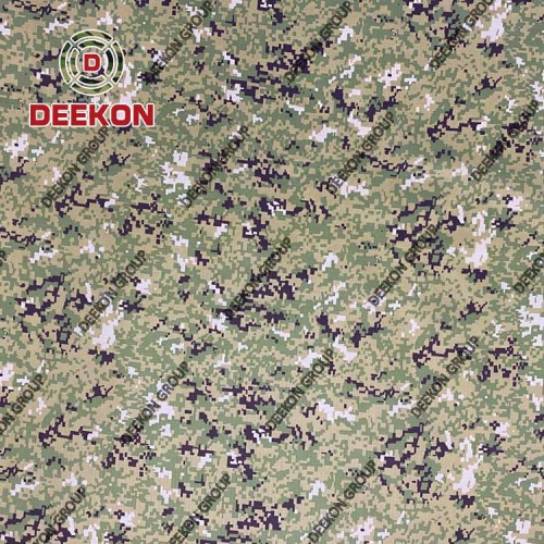 1000D Nylon Woodland Digital Camo Synthetic Fabric for Army Backpack Supplier