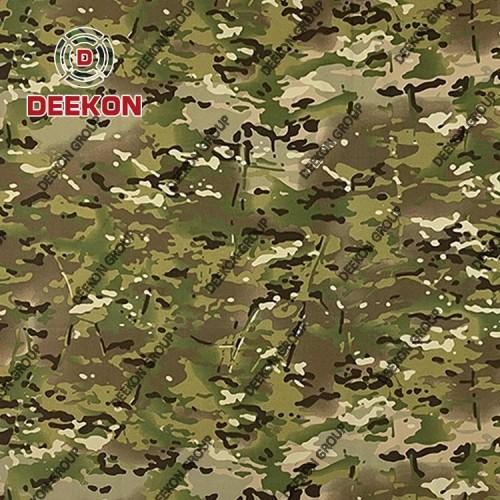 500D Nylon 6.6 Multicam Laminated 500D Nylon 66 Fabric for Laser Cut Bulletproof Vest Supplier