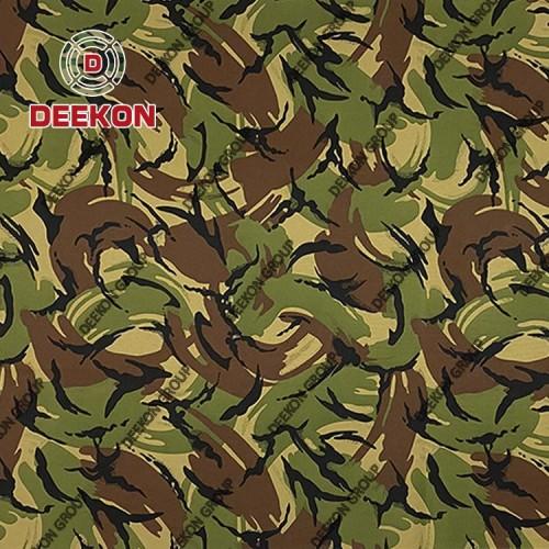 500D Nylon 66 British Woodland Fabric for Laser Cut Bulletproof Vest Supplier
