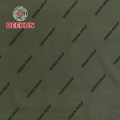 1000D 100% Nylon Army Green Synthetic Fabric Supplier with WR IRR Function for Military Backpack