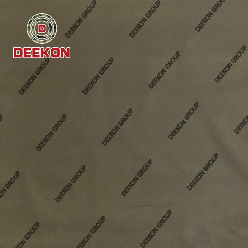 500D Nylon 6.6 Coyote Brown Laminated Fabric Manufacturer with WR IRR for Laser Cut Bulletproof Vest