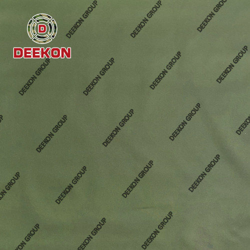 500D PVC Coated 100% Nylon Oliver Green Waterproof Synthetic Textile for Army Woodland FieldBackpack