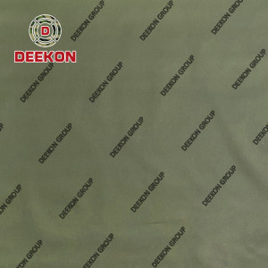 900D Poyester Green FR WR IRR Synthetic Textile Supply for Military Army Bag