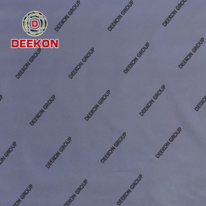 600D Polyester Navy Blue Cordura Fabric with PU Coated WR Fire Retardant for Navy Bulletproof Vest