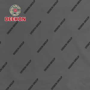 Black 500D 100% Nylon 66 Cordura Synthetic Textile with Water Resistant PU Coated for Police Vest
