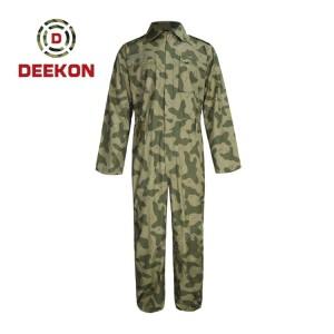 Deekon Military Coverall Supply Suadi Aribia Camouflage Flight Suit Flame Retardant Military Uniform