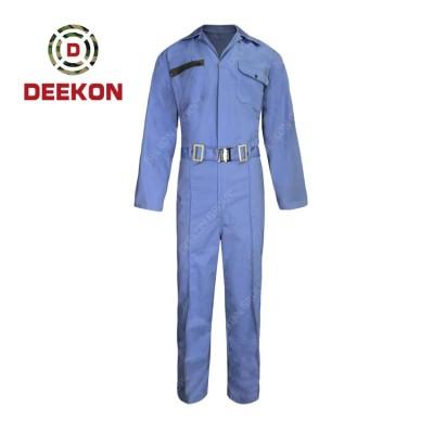Deekon Military Coverall Supply functional Flight Suit Flame Retardant Sky Blue Military Uniform