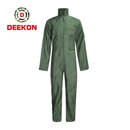 Deekon Military Coverall Supply Dark Green Flight suit functional Flame Retardant Military Uniform