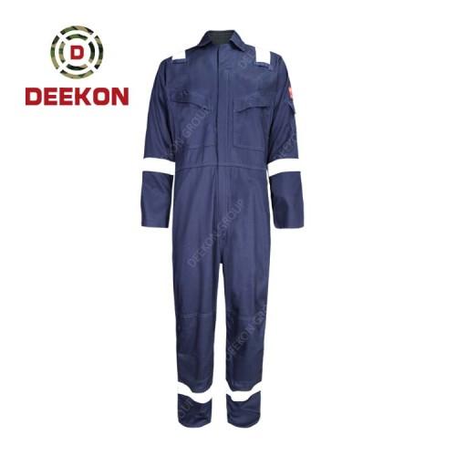 Deekon Military Coverall Supply Dark Blue Flight Suit functional Fire Retardant Military Uniform