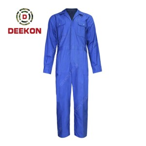 Deekon Military Coverall Supply Bright Blue Flight suit functional Flame Retardant Military Uniform