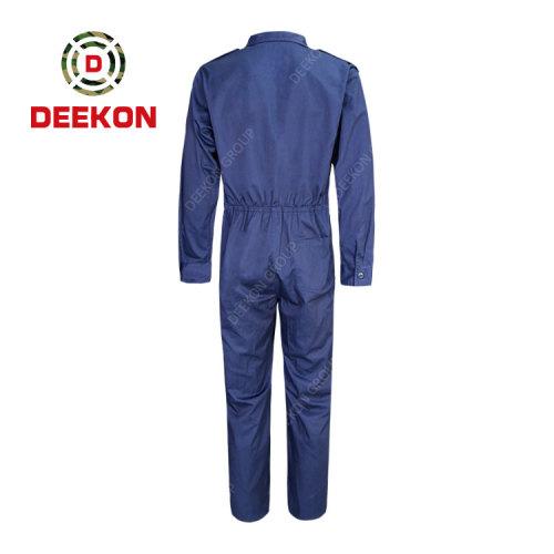 Deekon Military Coverall Factory Navy Blue Flight Suit functional Flame Retardant Military Uniform