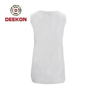 DEEKON military shirt supply Customized Fitness 100% Cotton Tactical Shirt White Color Tshirt