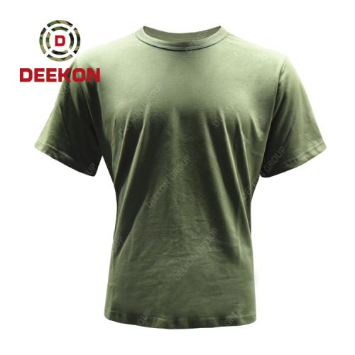 Deekon factory shirt for Libya Army Combat Shirt Tactical Military Short Sleeve Tshirt