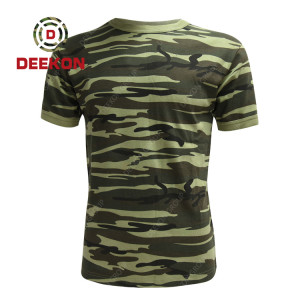 military shirt supply New outdoor Sri Lanka Camouflage breathable shirt men's  short sleeve shirts