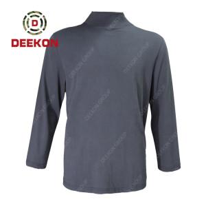 Deekon Shirts Factory Direct High Quality Long Sleeve 100% Cotton Men Shirts for Serbia