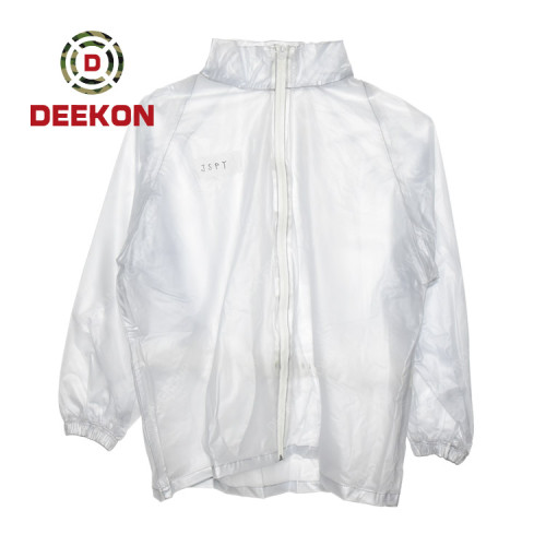 Military Raincoat manufacture Light Weight Polyester Waterproof Rainwear for Malaysia army