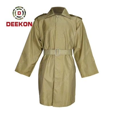 Military Rainwear Raincoat manufacture Tactical Light Weight Polyester Waterproof Raincoat for army