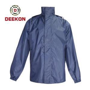 Deekon Raincoat supply High Quality 100% Waterproof Custom Raincoat for Greece Police Using