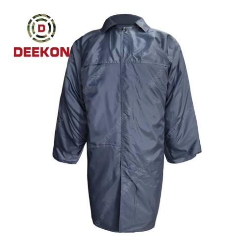 China Deekon Raincoat factory Durable Winter Rainproof Waterproof Kenya Police Military Rainwear