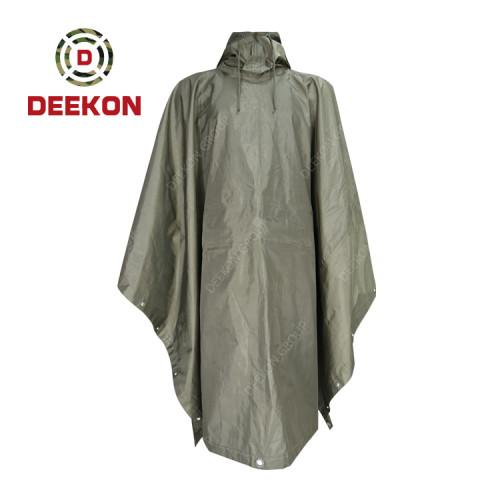 Deekon Poncho Supply for Nepal Army Tent  Waterproof Poncho Durable Military Rainwear